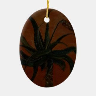 Ornamento De Cerâmica Aloés