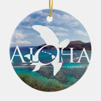Ornamento De Cerâmica Aloha de Havaí