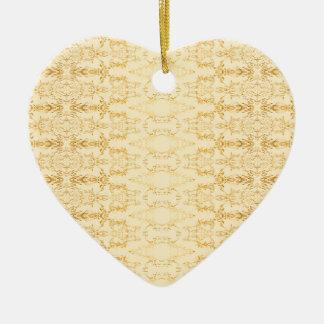 Ornamento De Cerâmica amarelo
