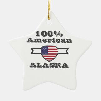 Ornamento De Cerâmica Americano de 100%, Alaska