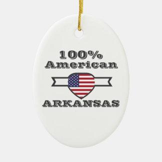 Ornamento De Cerâmica Americano de 100%, Arkansas