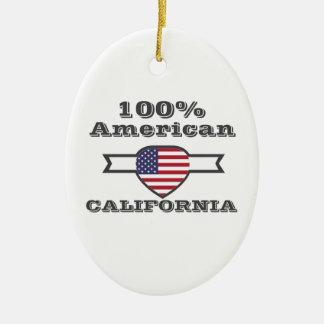 Ornamento De Cerâmica Americano de 100%, Califórnia