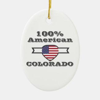 Ornamento De Cerâmica Americano de 100%, Colorado
