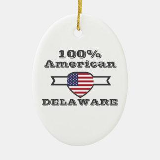 Ornamento De Cerâmica Americano de 100%, Delaware