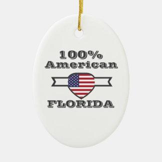 Ornamento De Cerâmica Americano de 100%, Florida