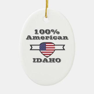 Ornamento De Cerâmica Americano de 100%, Idaho
