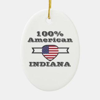 Ornamento De Cerâmica Americano de 100%, Indiana