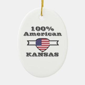 Ornamento De Cerâmica Americano de 100%, Kansas