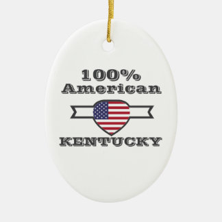 Ornamento De Cerâmica Americano de 100%, Kentucky