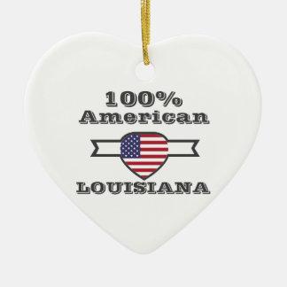 Ornamento De Cerâmica Americano de 100%, Louisiana