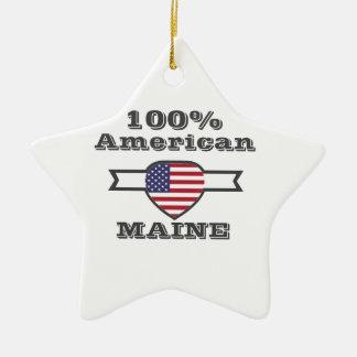 Ornamento De Cerâmica Americano de 100%, Maine