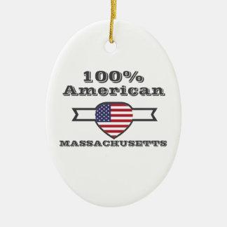 Ornamento De Cerâmica Americano de 100%, Massachusetts
