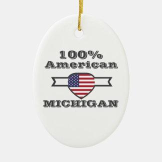 Ornamento De Cerâmica Americano de 100%, Michigan