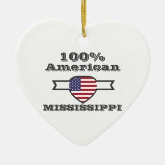 Ornamento De Cerâmica Americano de 100%, Mississippi