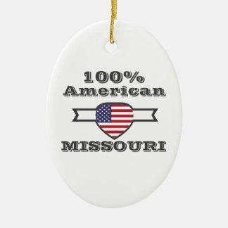 Ornamento De Cerâmica Americano de 100%, Missouri
