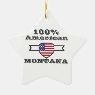 Ornamento De Cerâmica Americano de 100%, Montana