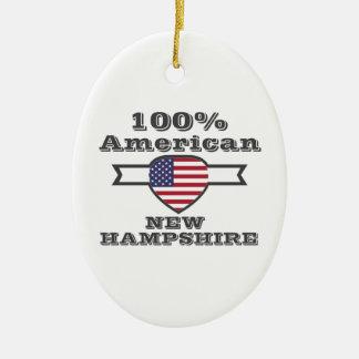 Ornamento De Cerâmica Americano de 100%, New Hampshire