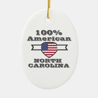 Ornamento De Cerâmica Americano de 100%, North Carolina