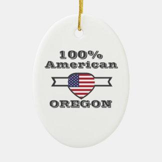 Ornamento De Cerâmica Americano de 100%, Oregon
