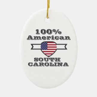 Ornamento De Cerâmica Americano de 100%, South Carolina
