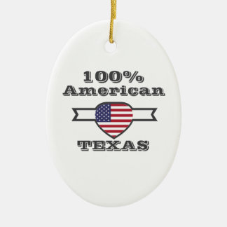 Ornamento De Cerâmica Americano de 100%, Texas