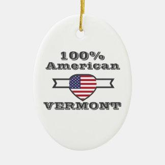 Ornamento De Cerâmica Americano de 100%, Vermont