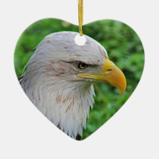 Ornamento De Cerâmica Americano Eagle