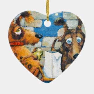 Ornamento De Cerâmica Amigos