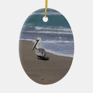 Ornamento De Cerâmica Amigos da praia do pelicano