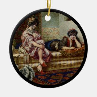 Ornamento De Cerâmica Amigos das mulheres em um Harem