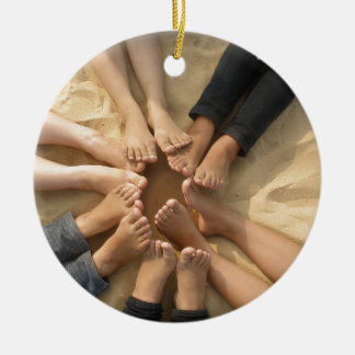 Ornamento De Cerâmica Amizade