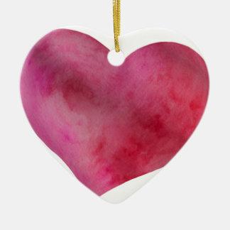Ornamento De Cerâmica Amor