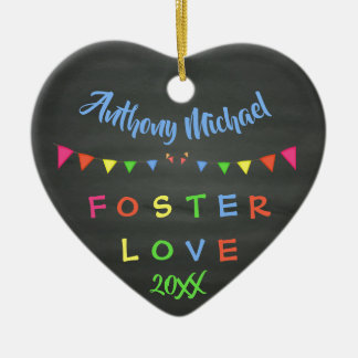 Ornamento De Cerâmica Amor adoptivo do quadro - data conhecida feita sob