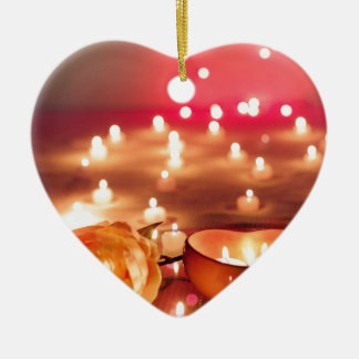 Ornamento De Cerâmica Amor da noite