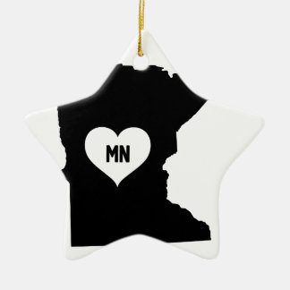 Ornamento De Cerâmica Amor de Minnesota