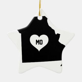 Ornamento De Cerâmica Amor de Missouri