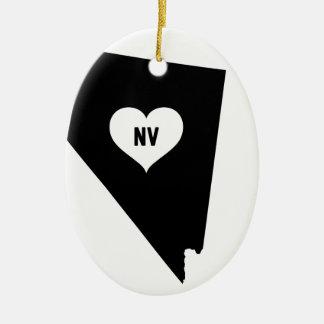 Ornamento De Cerâmica Amor de Nevada