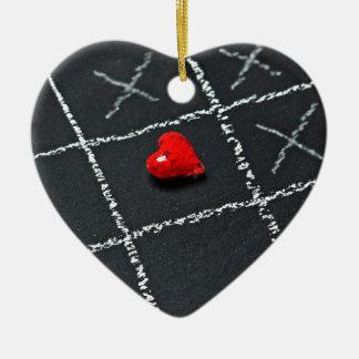 Ornamento De Cerâmica Amor desafiado