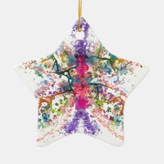 Ornamento De Cerâmica Anatomia da borboleta