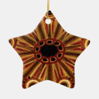 Ornamento De Cerâmica anéis dobro dos círculos