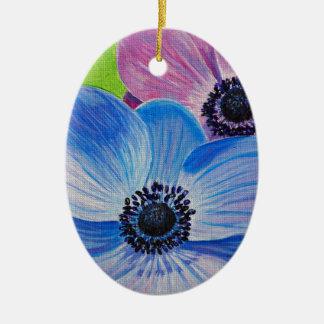 Ornamento De Cerâmica Anêmonas do primavera