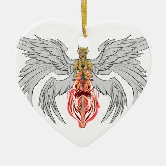 Ornamento De Cerâmica angel_queen_2