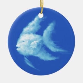 Ornamento De Cerâmica Angelfish