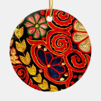 Ornamento De Cerâmica anggi 03 do batik