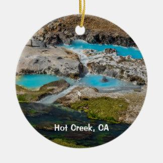 Ornamento De Cerâmica Angra quente, Califórnia