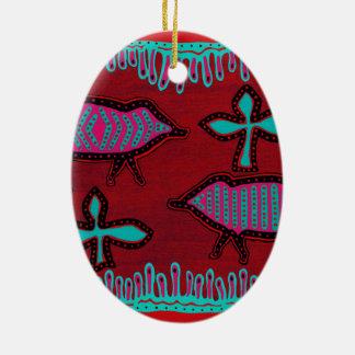 Ornamento De Cerâmica Animais do deserto do sudoeste