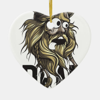 Ornamento De Cerâmica Animal da barba das nádegas do Dem