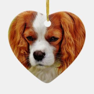 Ornamento De Cerâmica Animal de animal de estimação engraçado descuidado