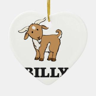 Ornamento De Cerâmica animal de fazenda da cabra de billy