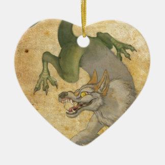 Ornamento De Cerâmica Animal do leste